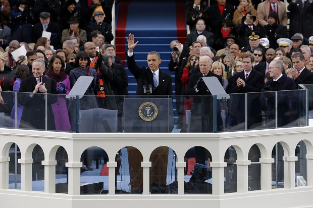 Conservatives: Obama's inauguration speech proves he's a liberal