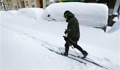 Climate contradiction: Less snow, more blizzards