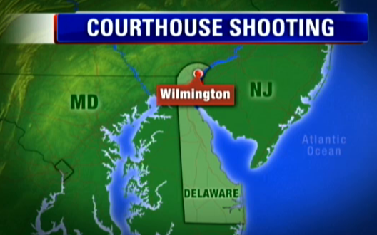 Three dead in courthouse shooting
