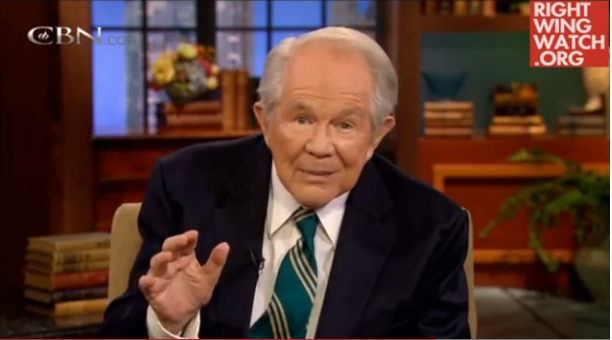 Pat Robertson: There could be demons attached to your thrift store finds
