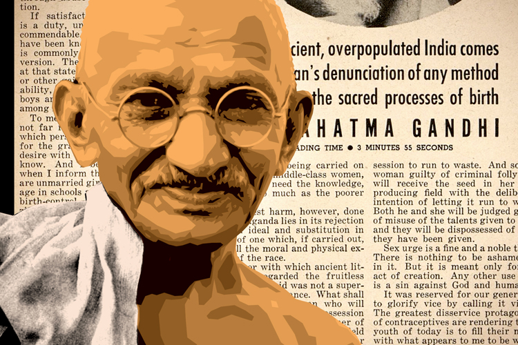 mahatma gandhi life story in english