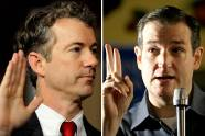 Sen. Rand Paul, R-KY, and Sen. Ted Cruz, R-TX.