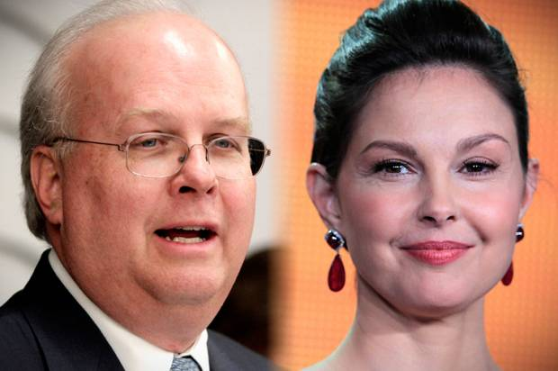 Karl Rove's Ashley Judd problem