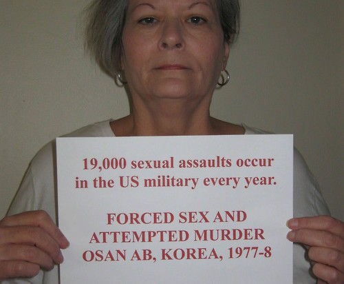 Women of the armed services put a face to military sexual trauma