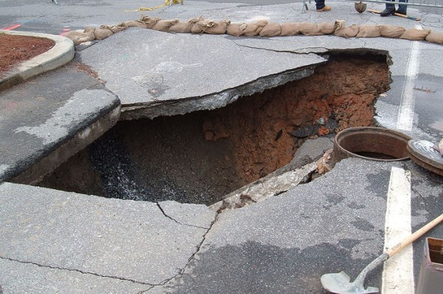 Florida man swallowed by sinkhole