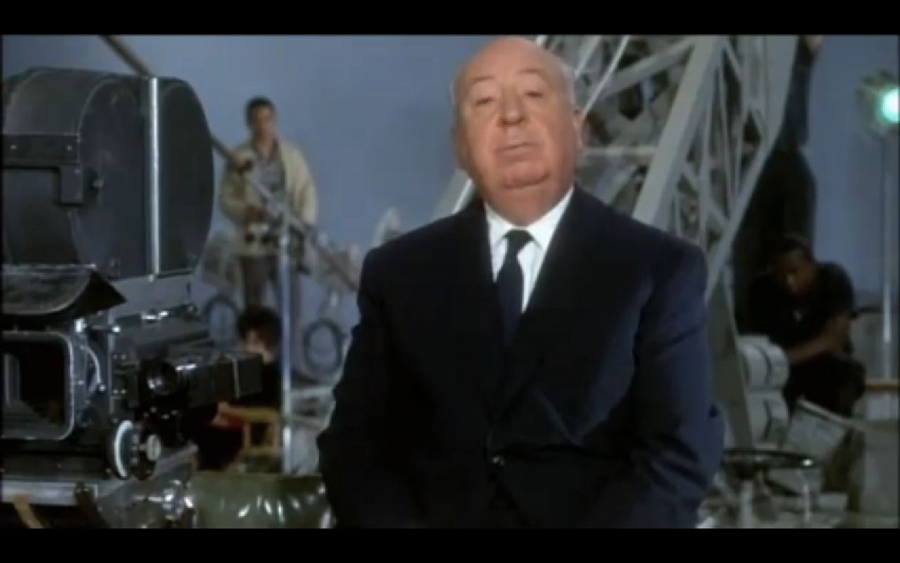 alfred hitchcock about cutting for cbc telescope