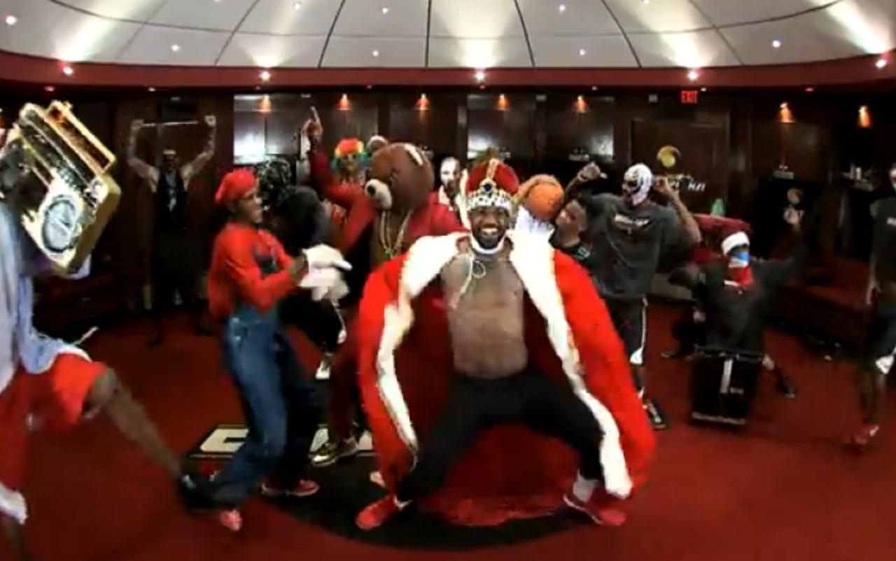 Watch The Miami Heat Do The Harlem Shake
