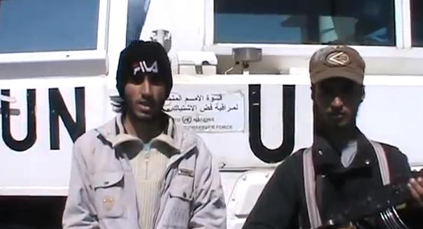 Syrian rebels seize U.N. peacekeepers in Golan Heights