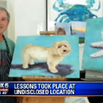 George W. Bush's art teacher says he'll