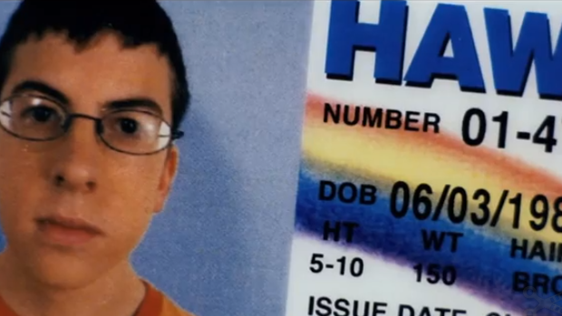 Watch the original McLovin scene table reading from