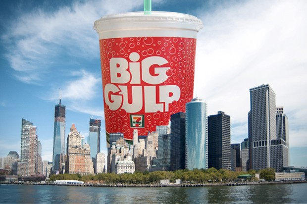 Sorry, Bloomberg, NYC continues to supersize