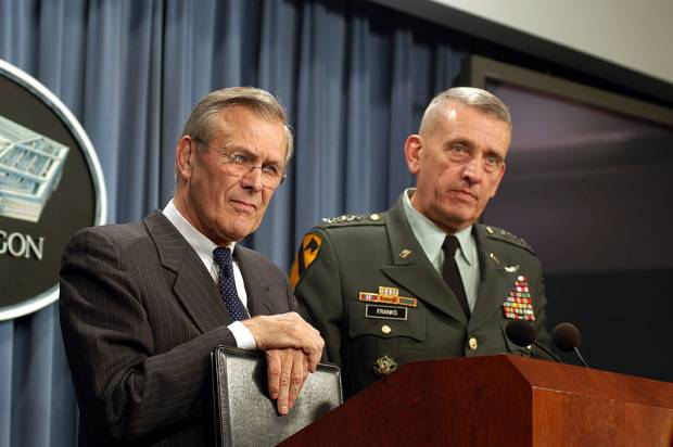 Rumsfeld: All involved in Iraq deserve