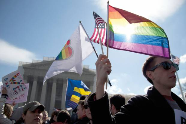 an analysis on gays right to marriage Analysis putting itself back in the forefront of the gay rights revolution, the supreme court ruled by the narrowest margin on friday that same-sex couples across the nation have an equal right to marry.