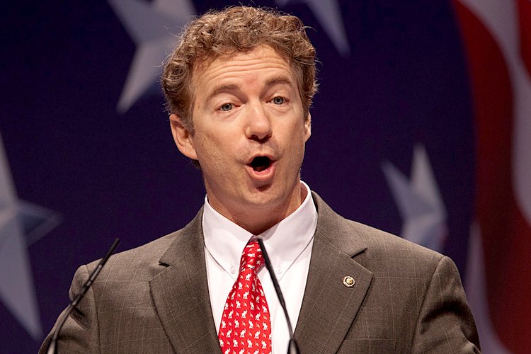 Sen rand paul r ky berated congress on tuesday for bullying