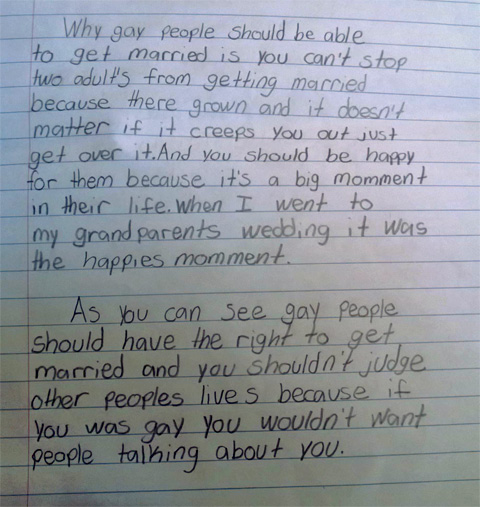 marriage persuasive essay