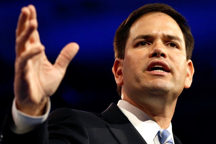 "Marco Rubio on separation of church and state: God ""doesn't need ..."