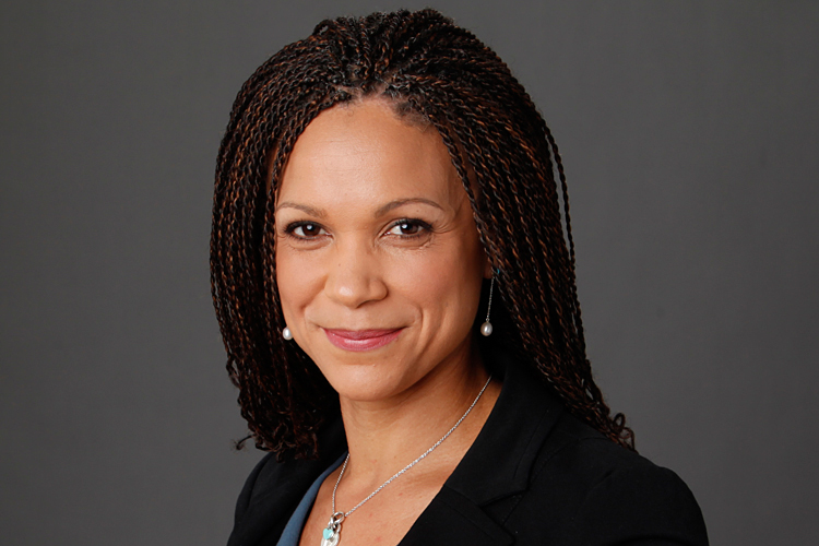 Melissa Harris-Perry d... Police Lights In Rear View Mirror