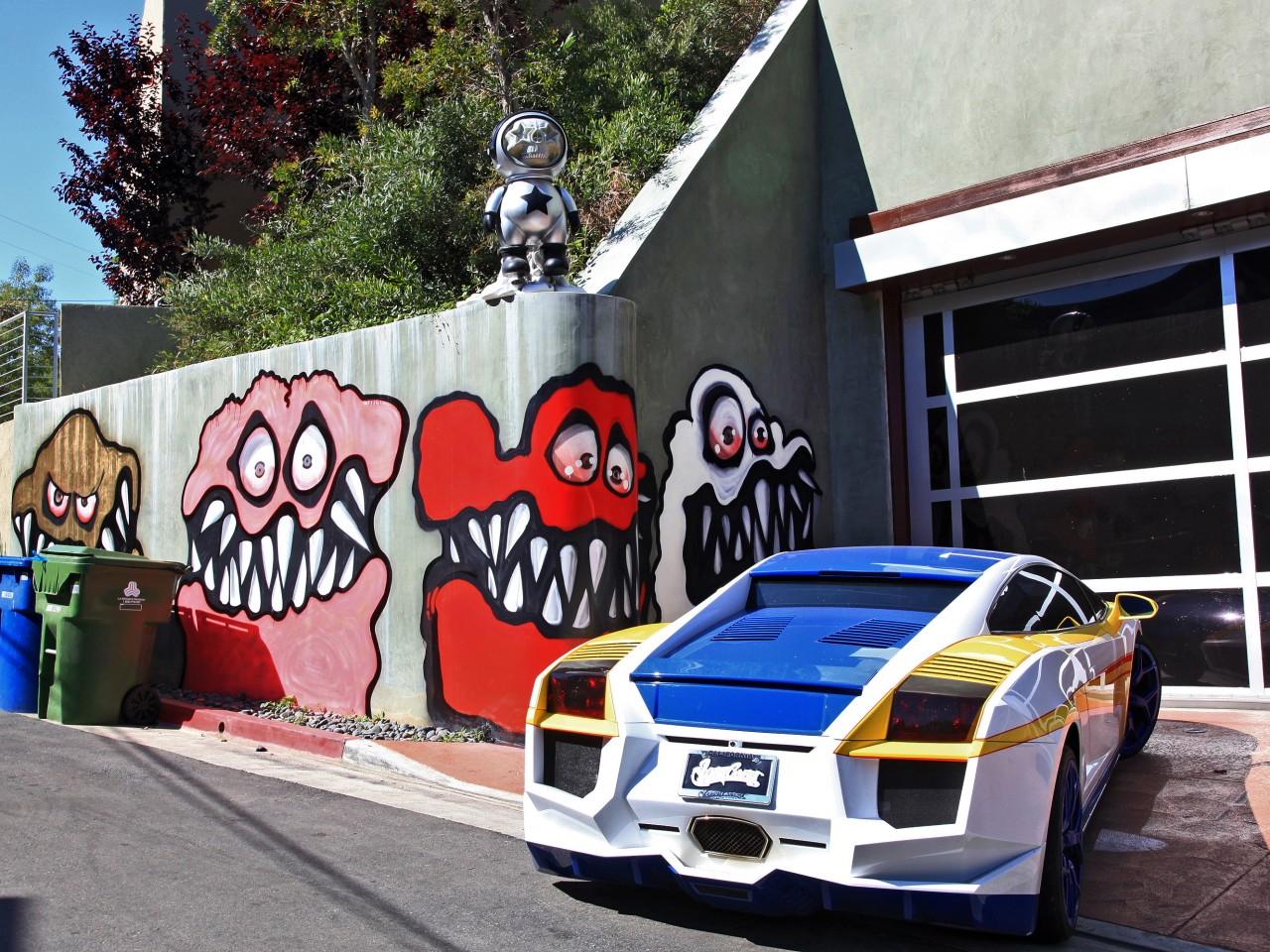 chris brown s mural upsets l a neighbors