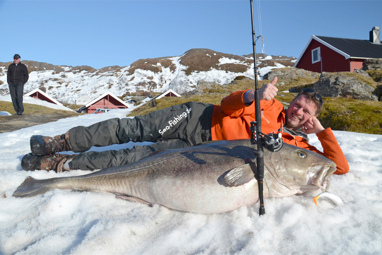 Pic of the day: Angler lands 103-pound cod - Salon.com
