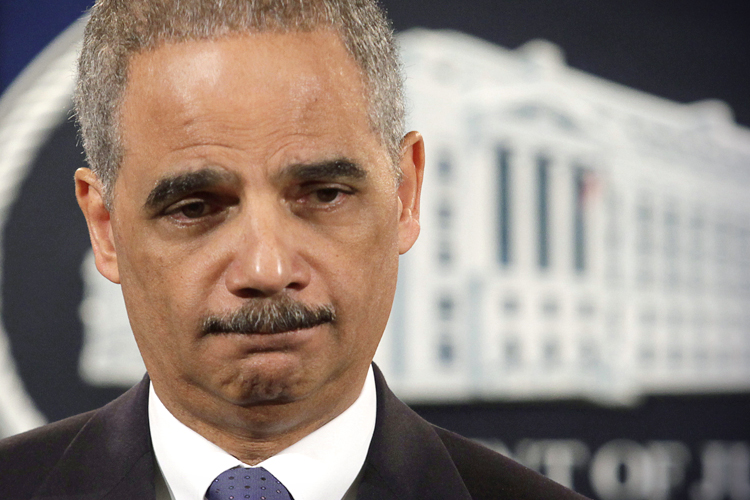 eric holder resume for attorney general