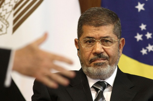 Egyptian military announces Morsi is out
