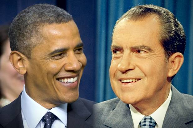 On freedom of speech, Obama-Nixon comparisons are apt