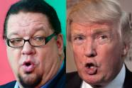 Penn Jillette, Donald Trump