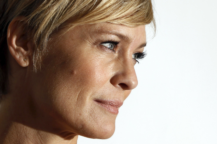 "Robin Wright: ""There..."