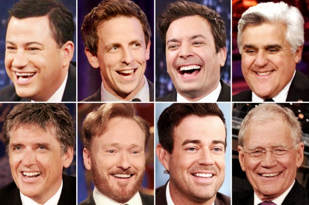 Image result for late night hosts