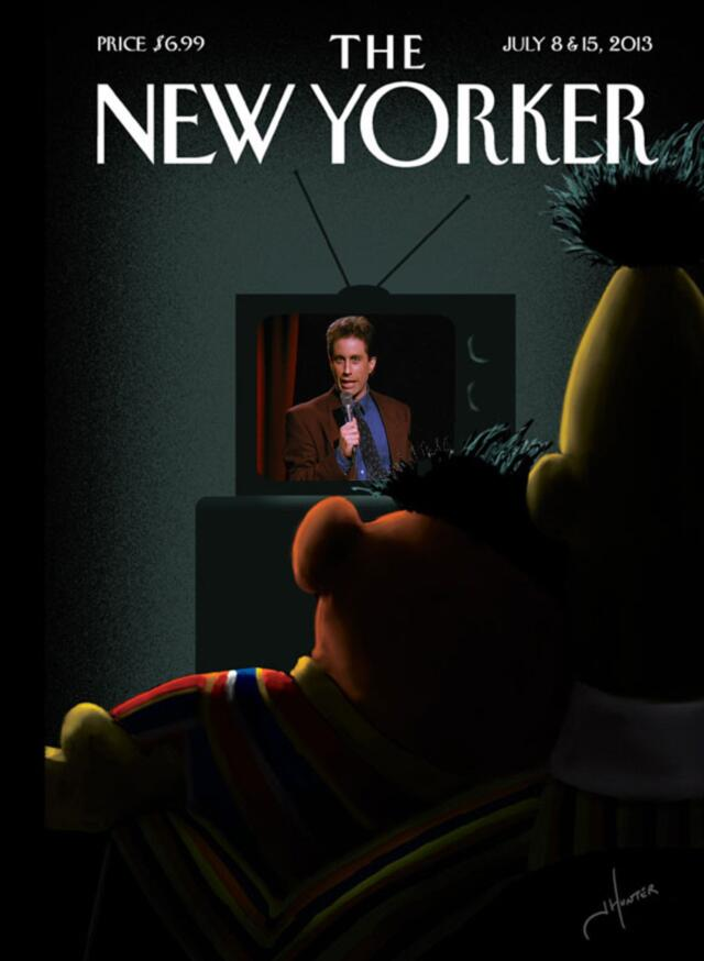 The new yorker s bert and ernie cover gets parodied salon com
