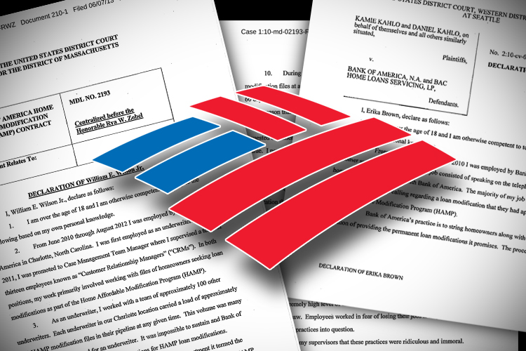 check out the full bank of america whistleblower details affidavits saloncom