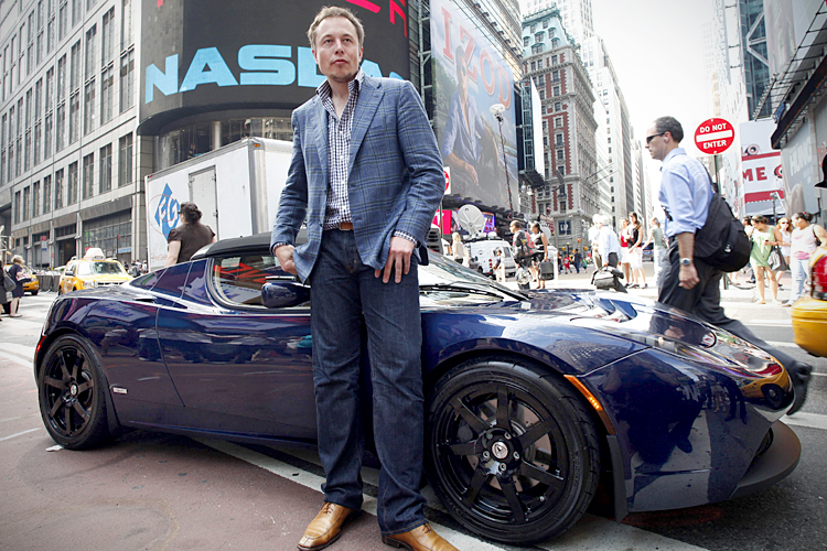 elon musk is changing the course of electric cars with the