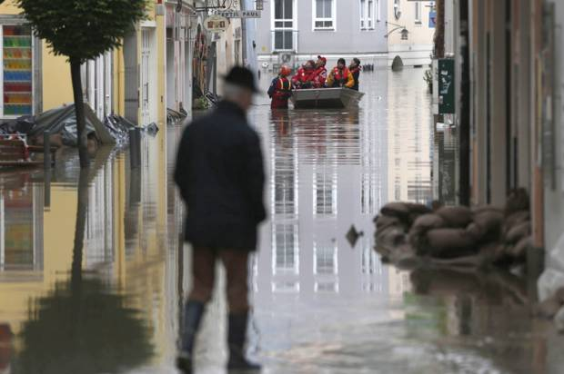 Germany Europe Floods