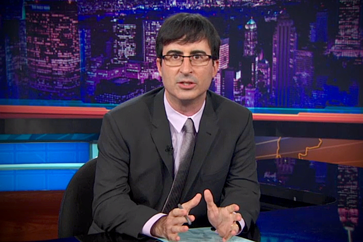 'Last Week Tonight With John Oliver' - Ferguson, MO & Police Militarization (Video)