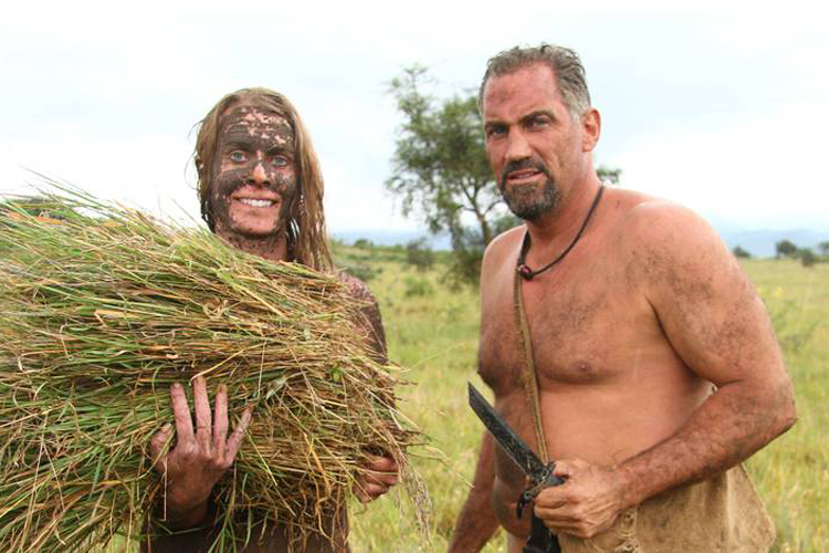 Pity, that Naked and afraid shows ever thing right! like