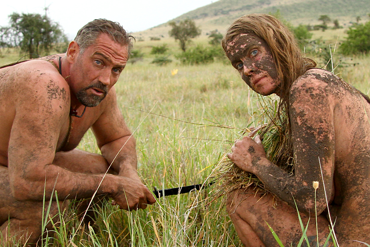 Naked and afraid survival test