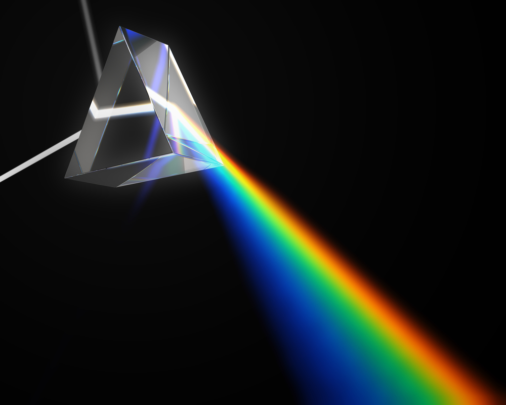 Emission spectra of the elements chemistry if you put sunlight through a prism you see a continuous spectrum of visible light a rainbow like this gamestrikefo Images