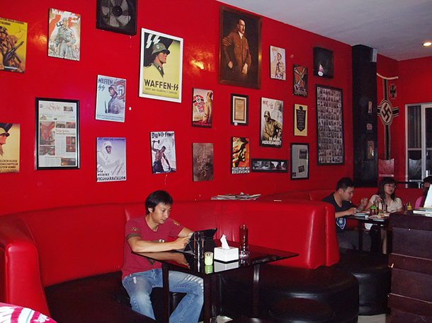 Nazi-Themed Cafe Reopens In Indonesia  Saloncom-5488