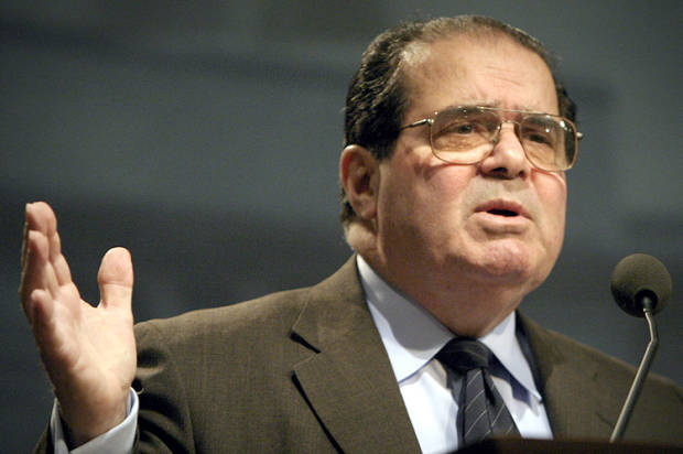 US Supreme Court Justice Antonin Scalia