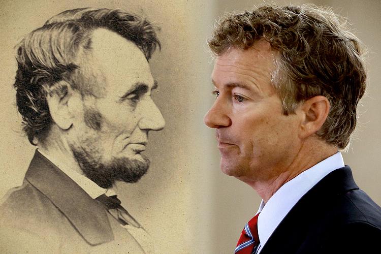 Rand Paul Completely Mangles Lincoln Salon Com