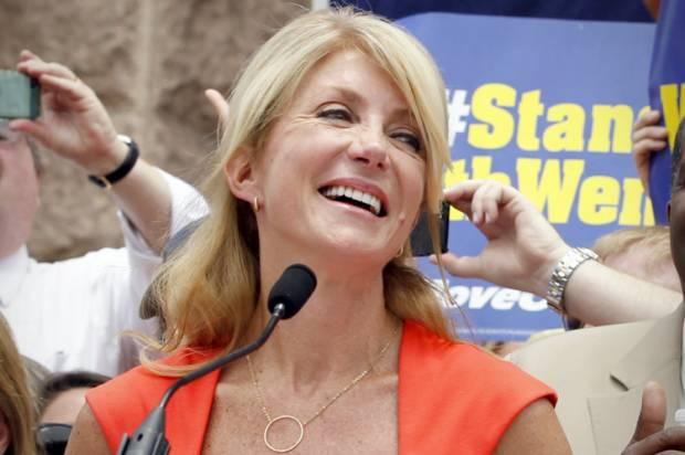 Democratic State Senator Wendy Davis of Texas.