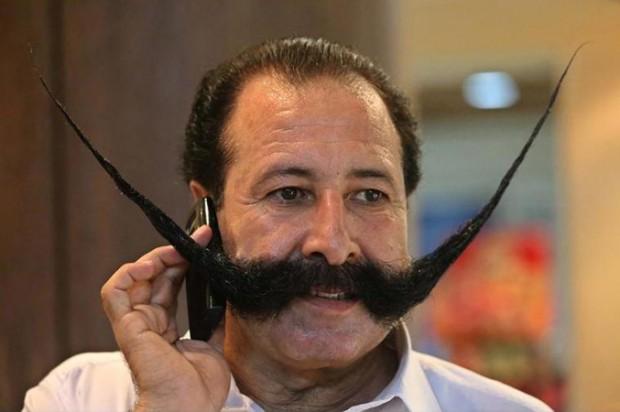 Mustache elicits Taliban death threats