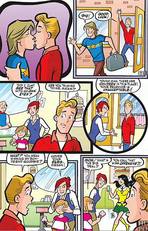 Archie Comics Only Openly Gay Character Gets His First