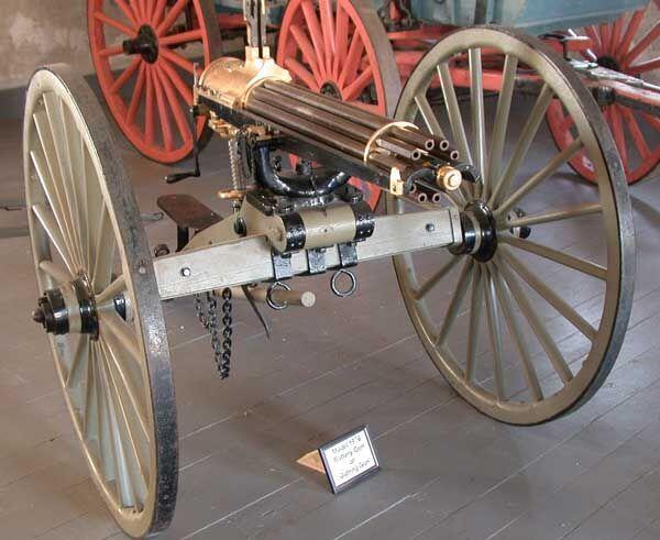 A brief history of the Gatling gun   Salon com