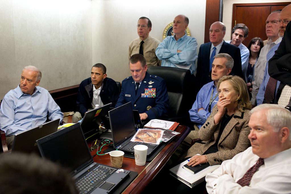 Bryan Fischer: Obama was photoshopped into bin Laden raid ... Obama Bin Laden Raid