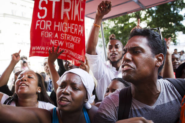 Largest fast food strike ever today: 58 cities will be affected
