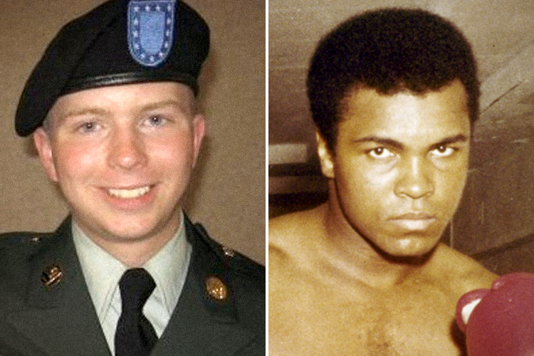 What's in a name? Chelsea Manning and Muhammad Ali