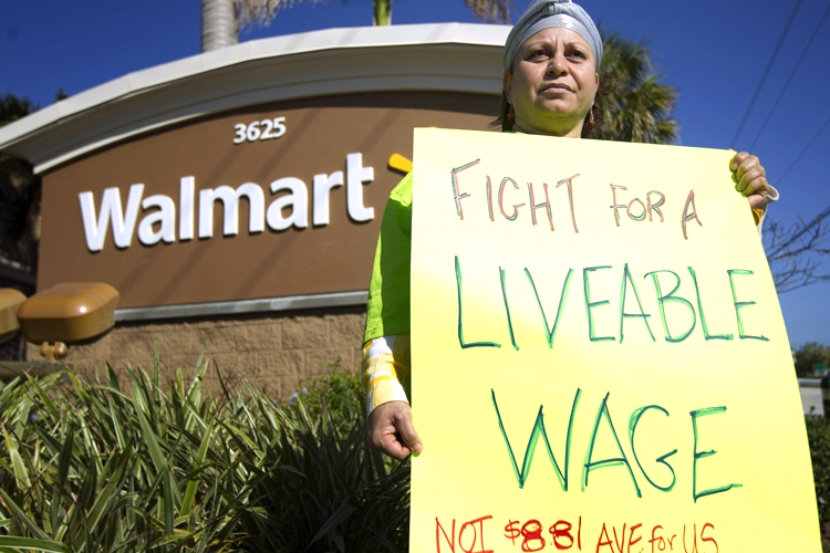 Walmarts Big Lie No It Doesnt Create Jobs
