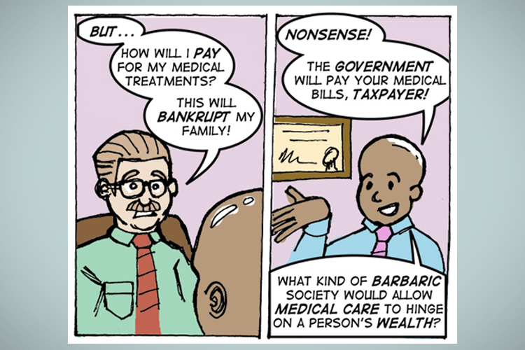 """Amazing comic strip shows why """"Breaking Bad"""" is only ..."""