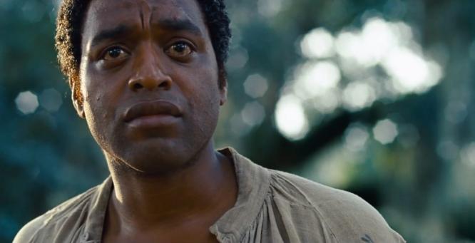 Chiwetel Ejiofor i rollen som Solomon Northup